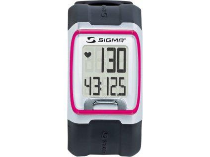 SIGMA sporttester PC 3.11  růžová
