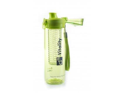 G21 Láhev na smoothie/juice, 600 ml, zelená