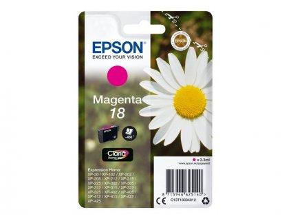 Epson T1803 Singlepack 18 Claria Home Ink Magenta - originál