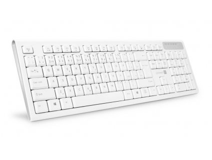 Connect IT CKB-3010-CS bezdrátová klávesnice, bílá