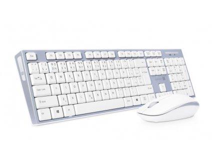 Connect IT CKM-7510-CS COMBO bezdrátový set klávesnice a myši, bílá