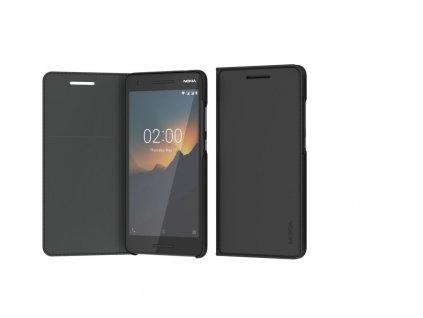 Nokia Slim Flip Cover CP-220 pro Nokia 2.1 černý