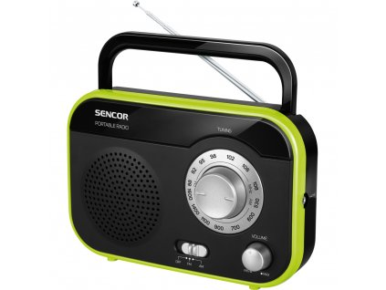 Sencor SRD 210 BGN černo/zelený