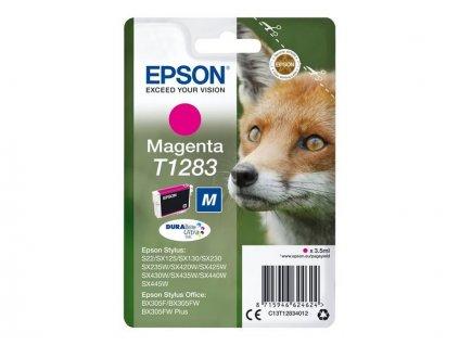 Epson T1283 Magenta 3,5ml pro Stylus S22/SX125/SX130/420W/425W, Stylus Office BX305F - originální