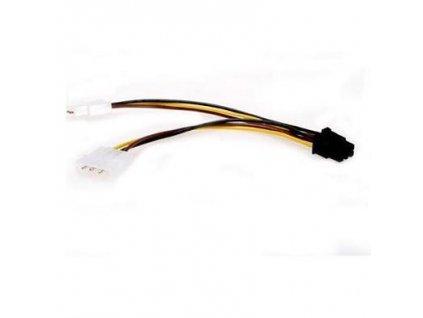 Kabel C-TECH rozdvojka nap 5,25 na PCI Express