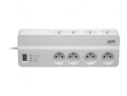 APC Essential SurgeArrest 8 outlets 230V France - přepěťová ochrana 8 zásuvek 1,8m