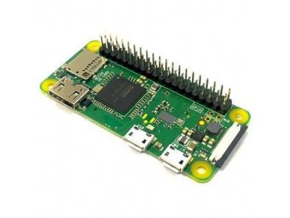 Raspberry Pi Zero WH s GPIO headerem