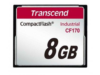 Transcend Compact Flash 8GB 170x Industrial (TS8GCF170)