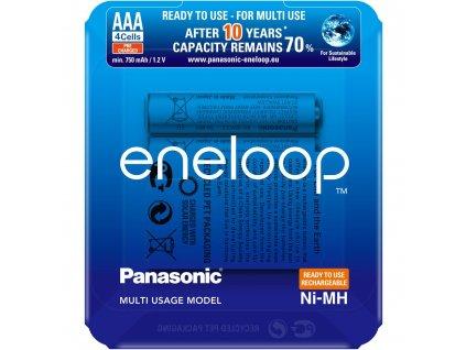 Panasonic Eneloop PRO Sliding Pack HR03 AAA 4MCCE/4LE
