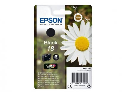 Epson T1801 černá - originál