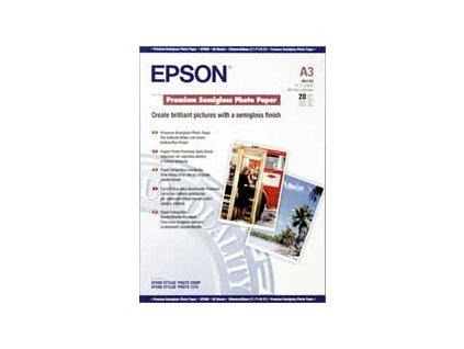 Epson papír A3,Premium Semigloss Photo Stylus 1270/2000P