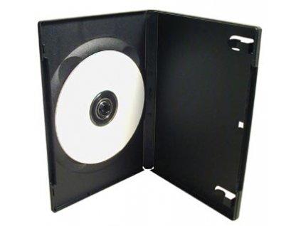 Box na 1 DVD - černý