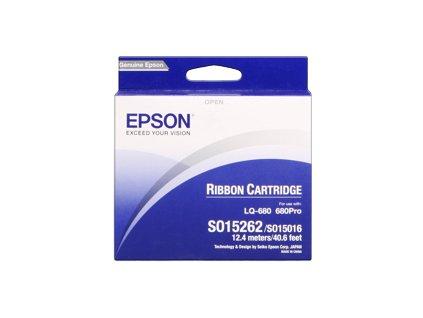 Epson barvicí páska čená S015262 pro LQ-680, 680Pro