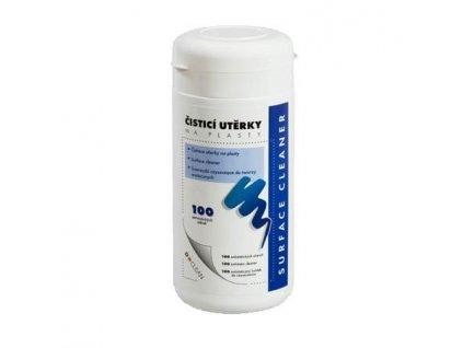 D-CLEAN utěrky navlhčené čisticí na plasty v dóze (100 ks)