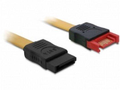 Delock prodlužovací kabel SATA 6 Gb / s samec - samice 30 cm