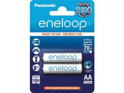 Panasonic 3MCCE/2BE Eneloop AA 1900 2BP bílé