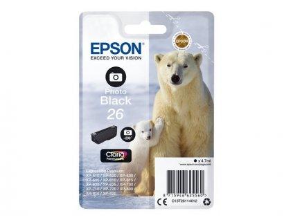 Epson T2611 Ink Photo Black - originál