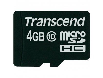 Transcend microSDHC 4GB Class10 (TS4GUSDC10)