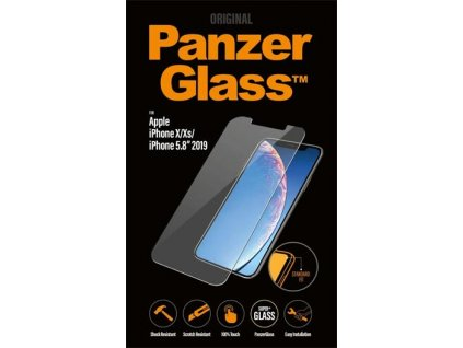 PanzerGlass Standard pro Apple iPhone X/Xs/11 Pro čiré (2661)