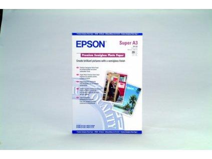 Epson Premium Semigloss Photo Paper, DIN A3+, 250g/m2, 20 list