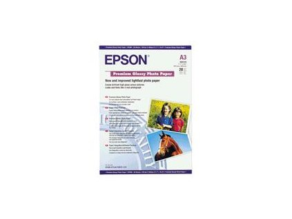 Epson Paper A3 Premium Glossy Photo (20 listů)