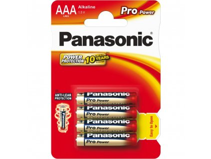 Panasonic LR03 4BP AAA Pro Power