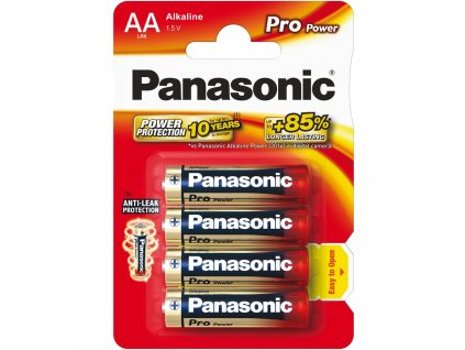 Panasonic LR6 4BP AA Pro Power