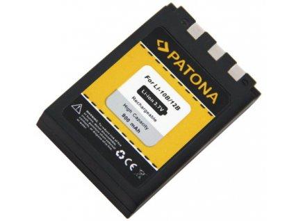 Patona PT1029 - Olympus Li-12B / Li-10B 900mAh Li-Ion