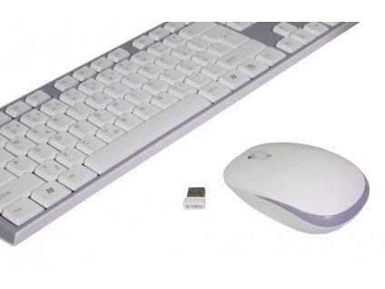EVOLVEO WK-180 bílo-šedá