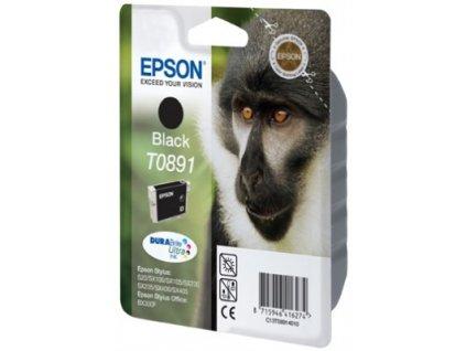 Epson T0891 Black 5,8ml pro Stylus S20/SX100/SX200/SX400 - originální