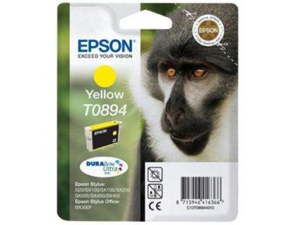 Epson T0894 Yellow 3,5ml pro Stylus S20/SX100/SX200/SX400 - originální