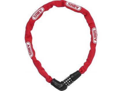ABUS Steel-O-Chain 5805C/75 red - zámek řetězový