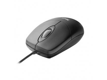 Trust Basi Optical Mouse, černá