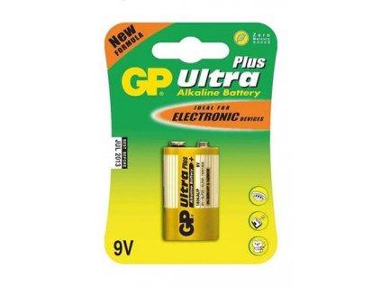 GP Ultra Plus Alkaline 9V blistr 1 kus
