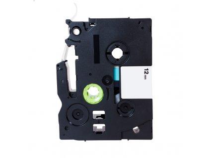 PRINTLINE kompatibilní páska s Brother TZE-231, TZ-231, 12mm, černý tisk/bílý podklad