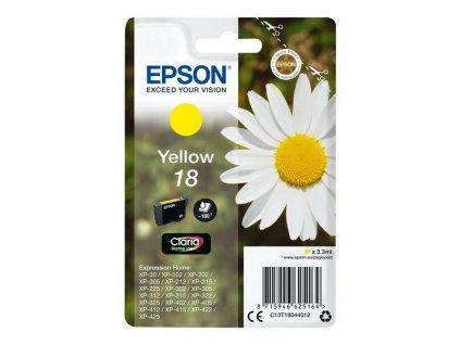 Epson T1804 žlutá - originál