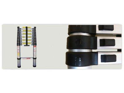G21 GA-TZ11-3,2M Teleskopický žebřík