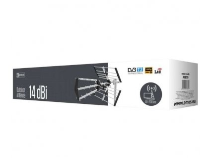EMOS TX-16LTE venkovní anténa 14 dBi LTE/4G filtr