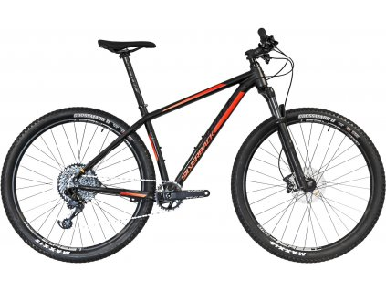 "29""  SILVERBACK 2020 Sola 1 - 18""/M - aston black/ vibrant orange"