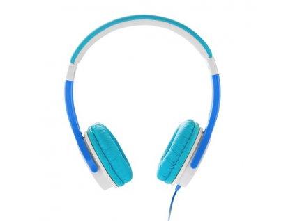GoGEN MAXISLECHY stereo jack, bílá/modrá