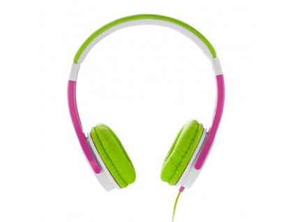 GoGEN MAXISLECHY stereo jack, zelená/růžová