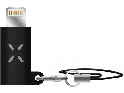 Redukce FIXED Link pro nabíjení a datový přenos z USB-C na Lightning, černá