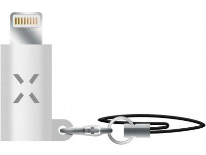 Redukce FIXED Link pro nabíjení a datový přenos z USB-C na Lightning, bílá
