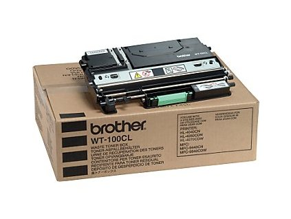 Brother odpadní nádoba WT-100CL pro HL-40x0CN, DCP/MFC-9xxxCN - originální