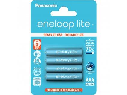 Panasonic Eneloop HR03 AAA BK-4LCCE/4BE
