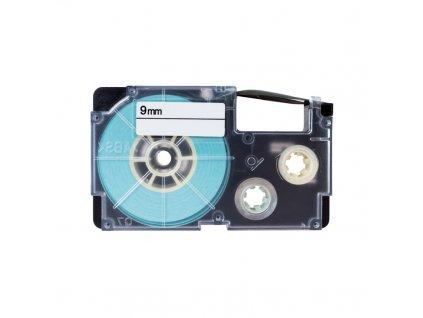 PRINTLINE kompatibilní páska s Casio, XR-9RD1, 9mm, 8m, černý tisk/červený podkl.