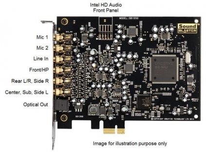 Creative Sound Blaster AUDIGY RX, PCIE (70SB155000001)
