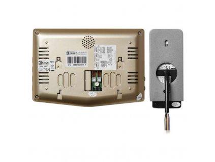 Sada videotelefonu EMOS H2031 s ukládáním snímků zlatá