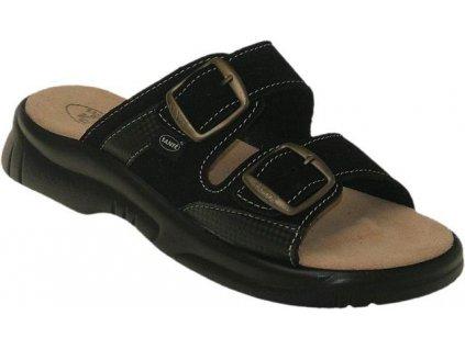 Dámský zdravotní pantofel N/517/33/68/CP velikost 39 černé