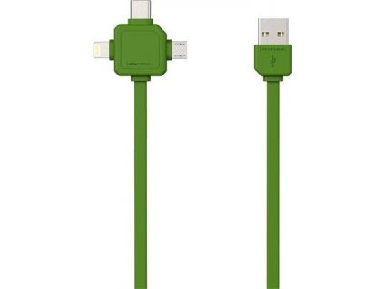PowerCube Cable 1.5m zelený